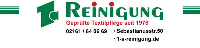 1a-Reinigung - Ihre professionelle, ökologische Textilpflege in Korschenbroich